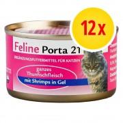 Porta 21 Fai scorta! Feline Porta 21 12 x 156 g - Kitten Pollo con Riso