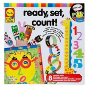 Alex Toys Early Learning Ready Set Count Little Hands, Multi Color
