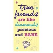 magnetische boekenlegger - true friends are like diamonds