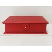 MODIANO Kit Per Il Burraco Con Portacarte E Segnapunti (Rosso)