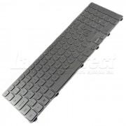 Tastatura Laptop Dell Inspiron P24E001 argintie iluminata + CADOU