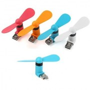 Akshatstore OTG Mini Micro USB Fan for Smartphone Laptop Desktop PC