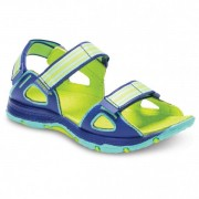 Merrell - Kid's M-Hydro Blaze - Sandales de marche taille 31, vert/bleu