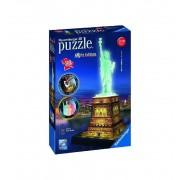 Puzzle 3d Estatua Libertad edición Noche - Ravensburger