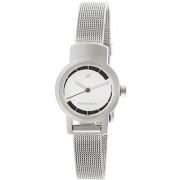 Fastrack Quartz White Round Women Watch 2298SM01