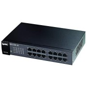 Zyxel 16-Port Gigabit Ethernet Unmanaged Switch - Fanless Design [GS1100-16]