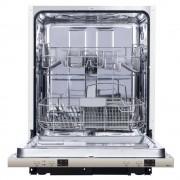 Masina de spalat vase incorporabila Pyramis DWG60FI 12 seturi 4 programe Clasa A++ Alb