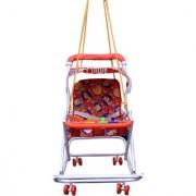 Abasr Baby Kids Multicolour 3 In 1 Walker Red Fancy