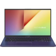 Ultrabook ASUS VivoBook 15 X512 Intel Core (10th Gen) i5-1035G1 512GB SSD 8GB FullHD Blue Bonus Geanta Laptop ASUS Nereus