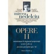 Opere vol.2 - Mircea Nedelciu