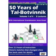 50 Years of Tal-Botvinnik - 4 DVD's - Chess Lecture - Volume 24 Chess DVD