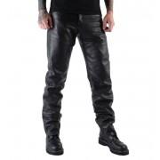 pantaloni pelle uomini MOTOR - MOT004