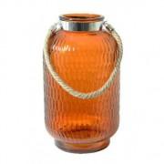 LivLight Darius Windlicht Large Oranje