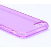 Telefoonhoesje.nl iPhone 7 / 8, Gel hoesje, Doorzichtig paars - Geschikt voor: Apple iPhone 7