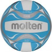 molten Beach-Volleyball BV1500-LB (weiß/blau/silber) - 5