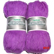 Vardhman Microshine Purple 400 gm hand knitting Soft Acrylic yarn wool thread for Art & craft Crochet and needle