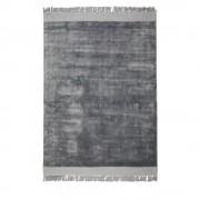 Zuiver Blink - Tapis à franges gris - Couleur - Gris, Dimensions - 170x240 cm
