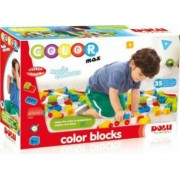 Cuburi colorate de construit DOLU 35 piese Multicolor