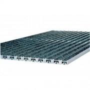 Vario alumínium rács műrost betéttel, 75x50, antracit