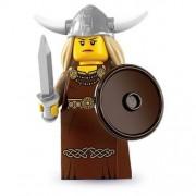 LEGO 8831 Series 7 Viking Woman Opera Singer Sword and Shield Minifig Minifigure