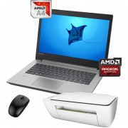 Laptop Lenovo Ideapad 330-14AST AMD A4-9125 1TB DD 8GB Ram + KIT- Gris