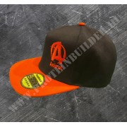 Animal Snapback Classic Black Red