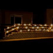 LED-es sziporkázó fényfüzér