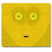 Mouse pad Robo C3PO Star Wars Faces