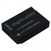 Bateria DMW-BCG10E Compatível com Panasonic Lumix DMC-TZ6, Leica V-Lux 20 - 890mAh - Íon de Lítio - 3,7V.