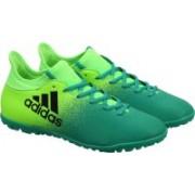 ADIDAS X 16.3 TF Football Shoes For Men(Green, Black)