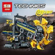 Generic LEPIN 20015 Technic 3929Pcs Bucket Wheel Excavator Model Building Assemble Kit Blocks Brick Compatible Toy Gift 42055 Gifts