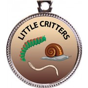 Little Critters Award, 1 inch dia Silver Medal 'Nature Studies Collection' by Keepsake Awards