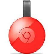 Media Streaming GOOGLE Chromecast II Streaming Dongle HDMI/USB stick, WiFi, crveni