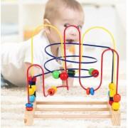 Jucarie motrica Labirint Montessori circuit cu bile mare