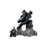 Imaginext Liga Da Justiça Dc Bat Bot Mattel Multicor