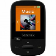 SanDisk 16GB Black Clip Sport Plus Global MP3 player SDMX28-016G-G46K SDMX28-016G-G46K