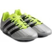 Adidas ACE 16.4 FXG J Men Football Shoes For Men(Silver)