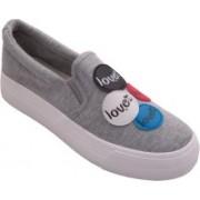 Bell LSH27-GRY Sneakers For Women(Grey)