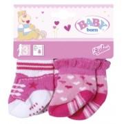 Baby Born - Sosete '2 Perechi' Diverse Modele Zapf