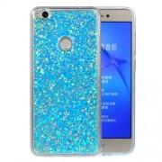 Huawei P8 Lite (2017) Glitter Powder Soft TPU Protective Case (Blue)