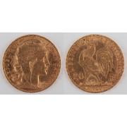 Zlatá mince: 20 Frank 1904