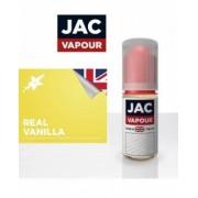 Lichid Tigara Electronica Premium Jac Vapour Real Vanilla 10ml, Fara Nicotina, 30%VG 70%PG, Fabricat in UK
