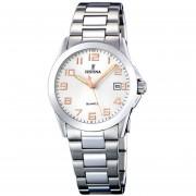 Reloj F16377/3 Plateado Festina Mujer Acero Clasico