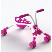 Tricicleta Pliabila Scramble Bug Candy Pink White