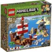LEGO Minecraft LEGO® MINECRAFT 21152 Pirátská loď dobrodružství
