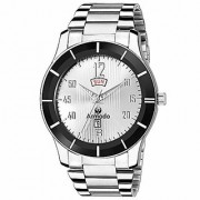 ARMADO AR-208-SL Day and Date Analogue Watch-for Men