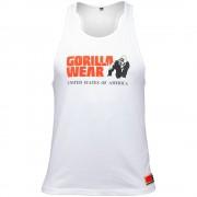 Gorilla Wear Classic Tank Top Wit - L