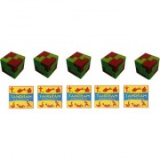 Virgo Toys I Qube Puzzle and Tangram (Combo) - Pack of 5