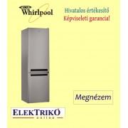 Whirlpool BSF 9152 OX alulfagyasztós hűtőszekrény, A++ energiaosztály, StopFrost, 2 m magas