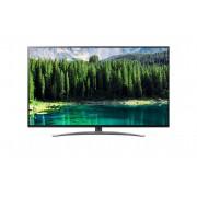 Televizor SUHD LG 55SM8600PLA, 139 cm, Smart TV, 4K Ultra HD, Smart ThinQ, Tehnologie NanoCell, Bluetooth 5.0, Wi-Fi, Dolby Atmos, Clasa energetica A, Negru